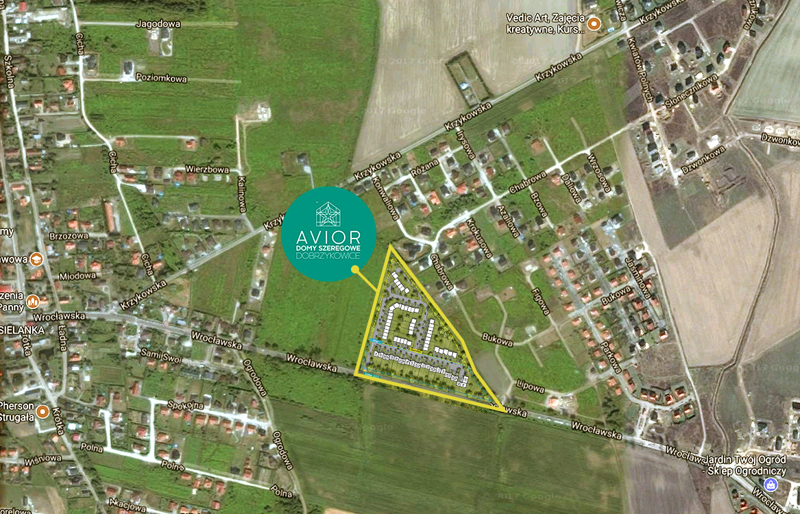 Lokalizacja inwestycji AVIOR